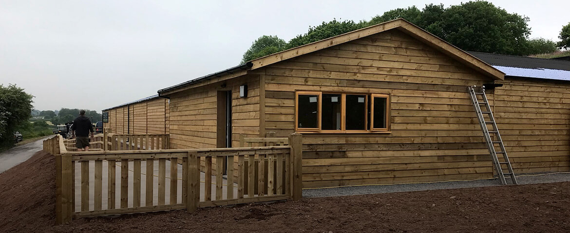 Commercial Timber Buildings