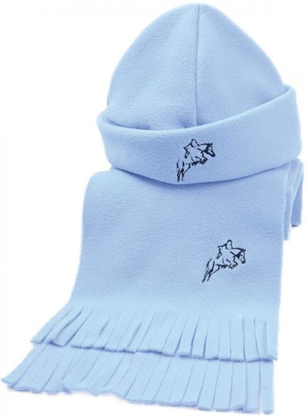 Hy Fleece Hat & Scarf Set Baby Blue