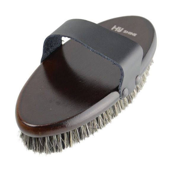 HySHINE Deluxe Body Brush With Horse Hair Mixed With Pig Bristles image #1