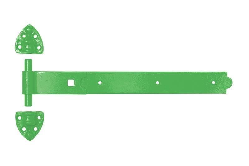 Green Heavy Reversible Hinge 450mm/18 inch