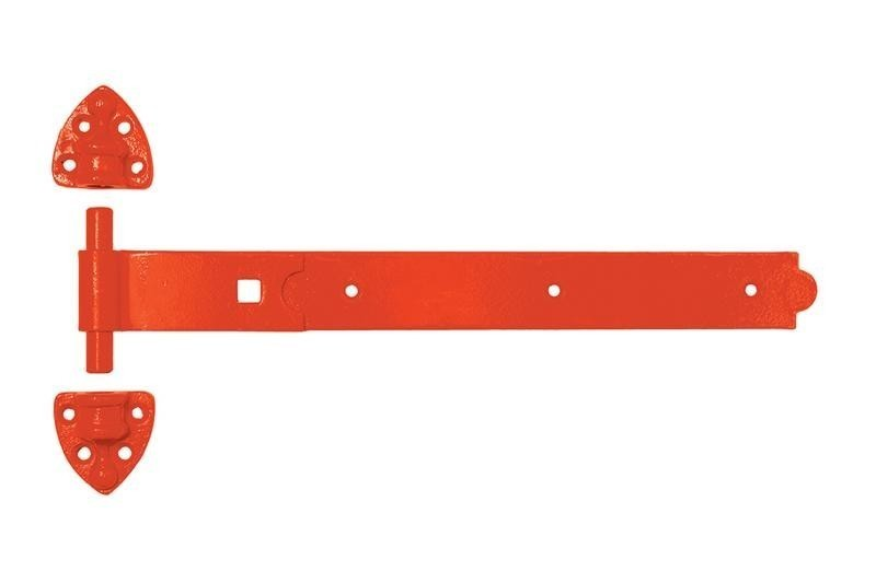 Red Heavy Reversible Hinge 450mm/18 inch