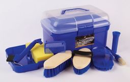 Lincoln Grooming Kit - Blue