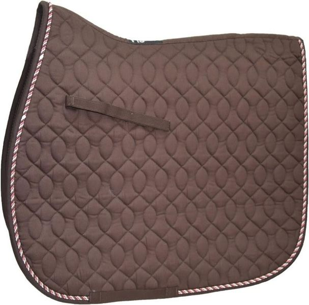 HySpeed Deluxe Saddle Pad with Cord - Pony Chocolate