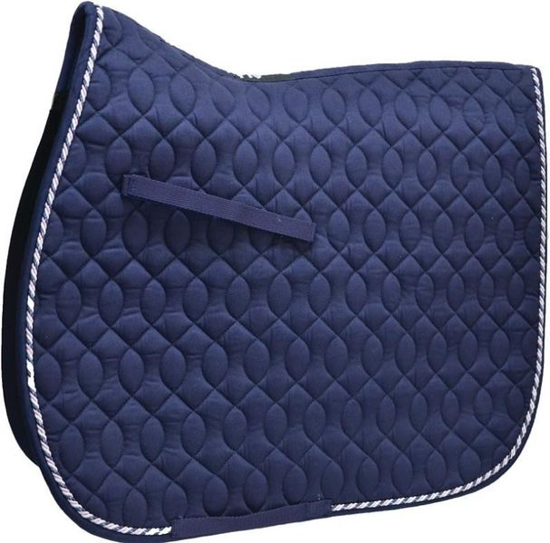 HySpeed Deluxe Saddle Pad with Cord - Pony Navy