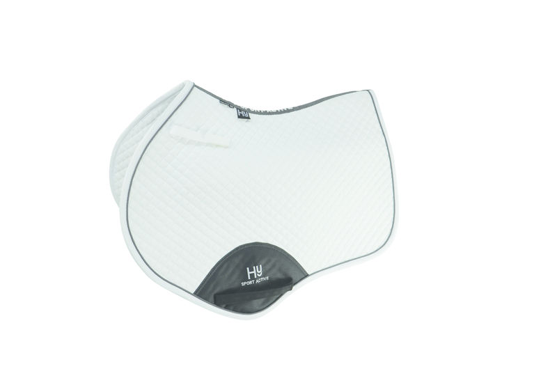 HyWITHER Sport Active Dressage Saddle Pad white