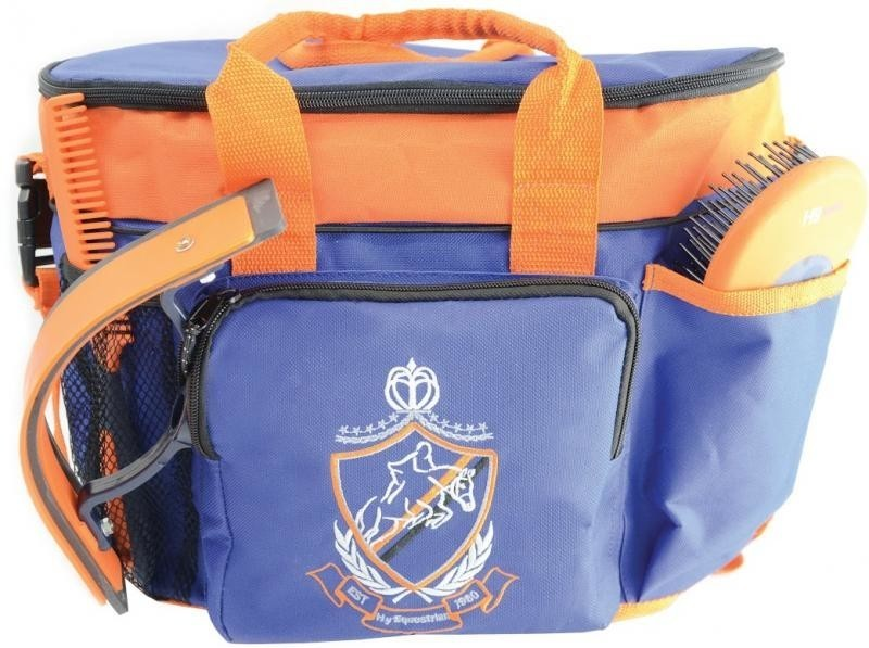 HyShine Complete Pro Grooming Bag in Navy/Orange