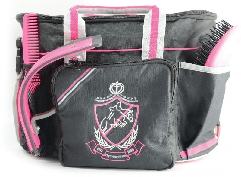 HyShine Complete Pro Grooming Bag in Pink/Black
