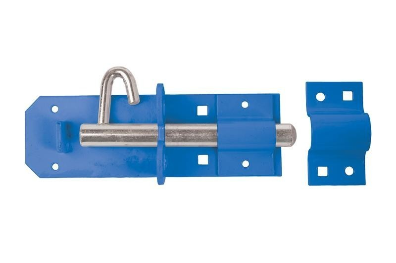 Brenton Padlock Bolt 150mm/ 6inch in Blue