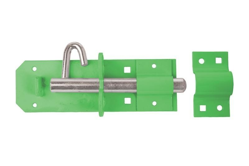 Brenton Padlock Bolt 200mm/ 8inch in Green