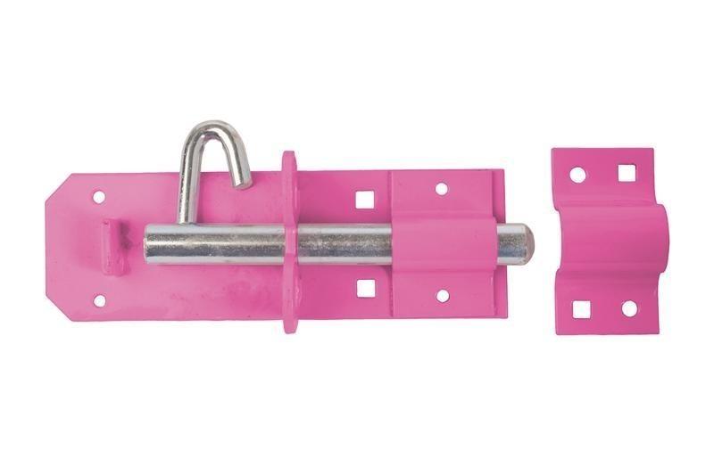 Brenton Padlock Bolt 200mm/ 8inch in Pink