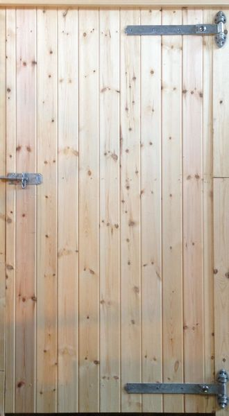 34ins Standard RH Hung Tack Room Door with Reversible Hinges