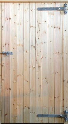 """34"""" Standard Tack Room Door with Reversible Hinges"""