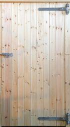 34ins Standard RH Hung Tack Room Door with Reversible Hinges