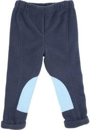 HyPerformance Fleece Tots Jodhpurs - Navy/Sky Blue