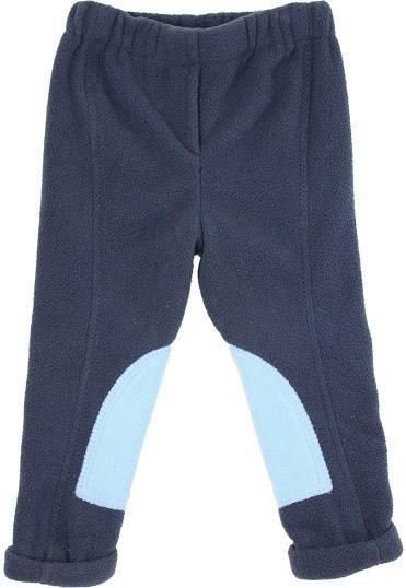 HyPerformance Fleece Tots Jodhpurs Navy/Sky Blue - Large