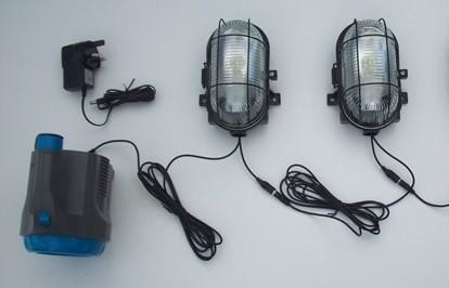High Bright Lighting System with Power Torch