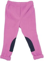 HyPerformance Fleece Tots Jodhpurs Pretty Pink/Navy - Large