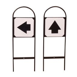 Pack of 4 Direction Marker Sign - Labels Only