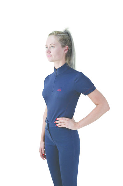 Hy Signature Sports Shirt navy/red