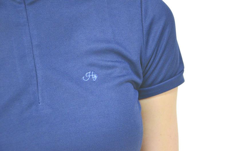 Hy Signature Sports Shirt navy/blue logo