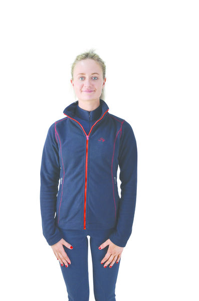 Hy Signature Fleece, navy/red, L (14-16)