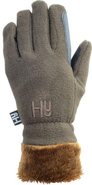Hy5 Fur Lined Fleece Gloves Large