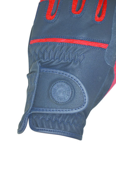 Hy Signature Riding Gloves navy/red