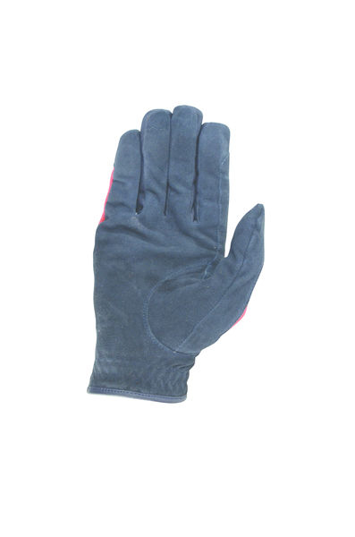 Hy Signature Riding Gloves navy/red back