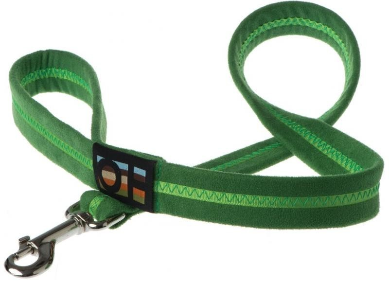 Oscar & Hooch Dog Lead 2 x 104cm - Apple Green