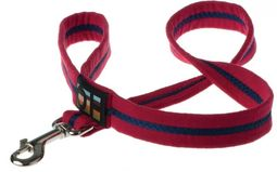 Oscar & Hooch Dog Lead - Bold Red