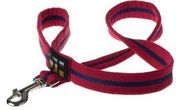 Oscar & Hooch Dog Lead - Bold Red