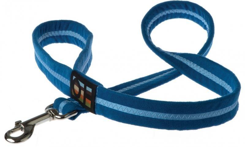 Oscar & Hooch Dog Lead 2 x 104cm - Royal Blue