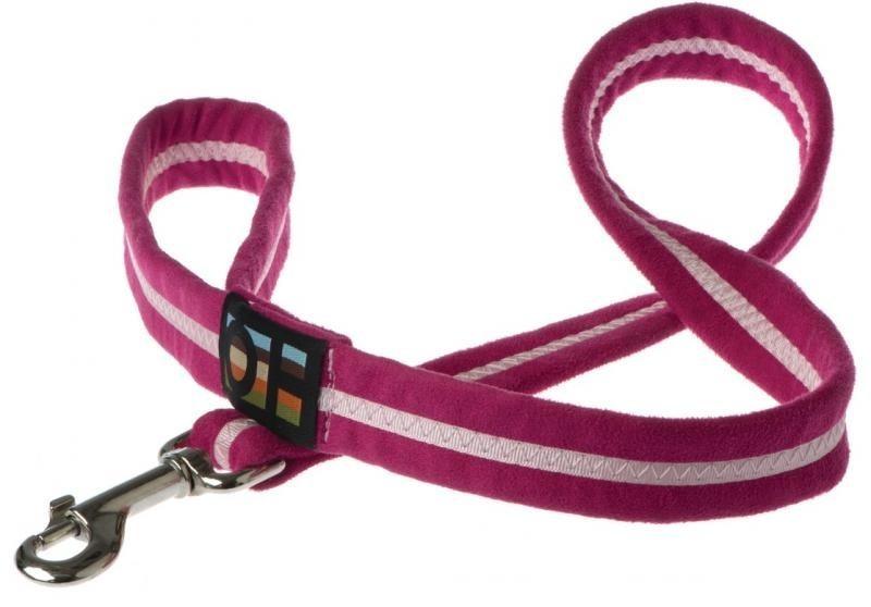 Oscar & Hooch Dog Lead 2 x 104cm - Hot Pink