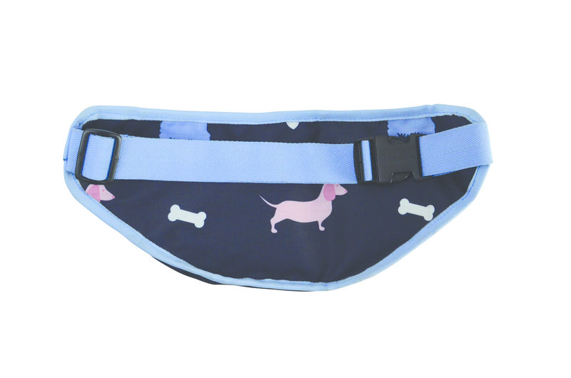 Hy Equestrian Liza Dog Print Bum Bag