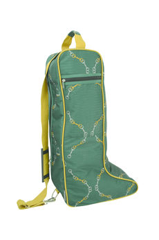 HyEQUESTRIAN Elegant Stirrup & Bit Boot Bag