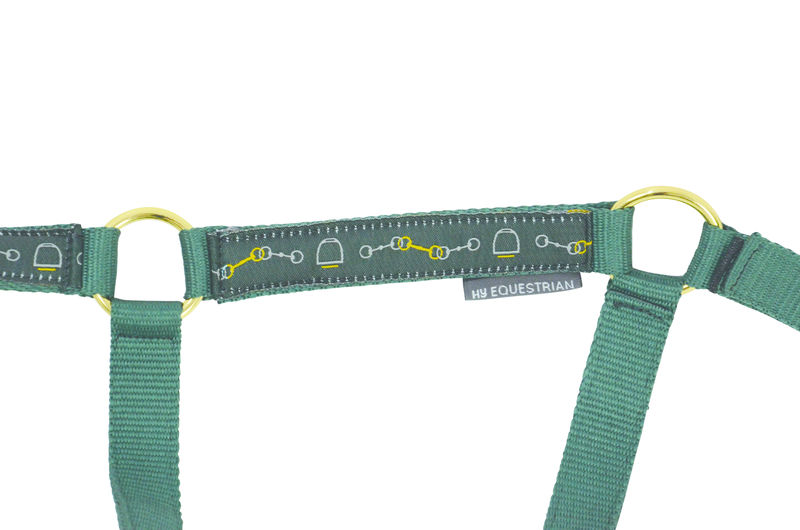 HyEQUESTRIAN Elegant Stirrup & Bit Head Collar & Lead Rope image #2