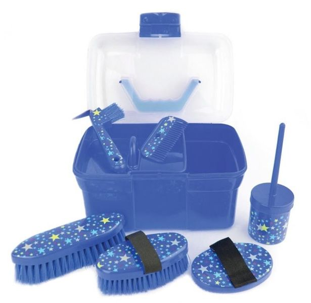 Lincoln Star Pattern Grooming Kit Navy