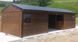 Mini American Barn