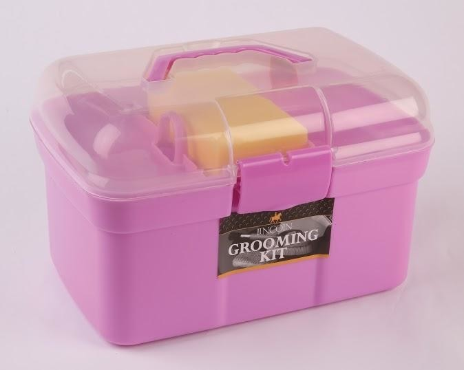 Lincoln Grooming Kit - Pink