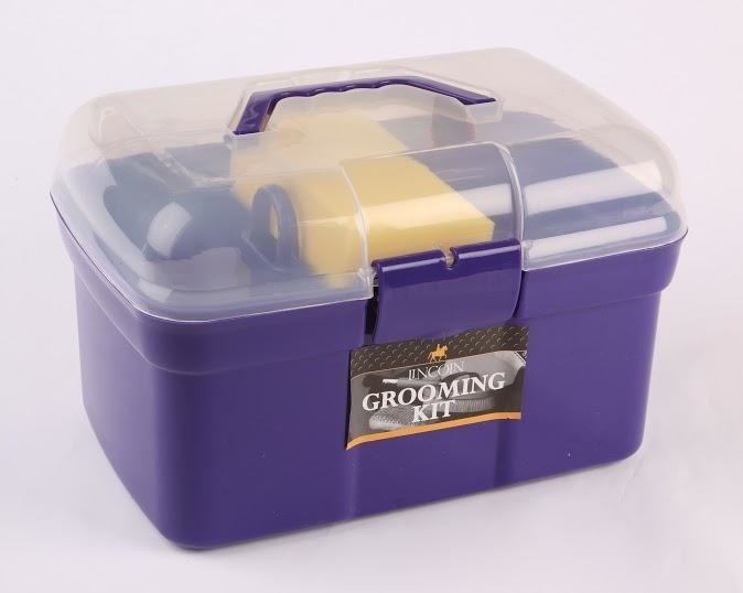Lincoln Grooming Kit - Purple