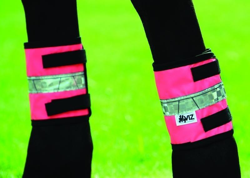 Pink Pony HyVIZ Leg Bands