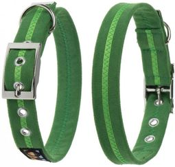 Oscar & Hooch Dog Collar 2 x 38cm - Apple Green