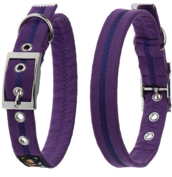 Oscar & Hooch Dog Collar 2.5 x 51cm - Liberty Purple