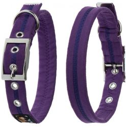 Oscar & Hooch Dog Collar 2 x 38cm - Liberty Purple