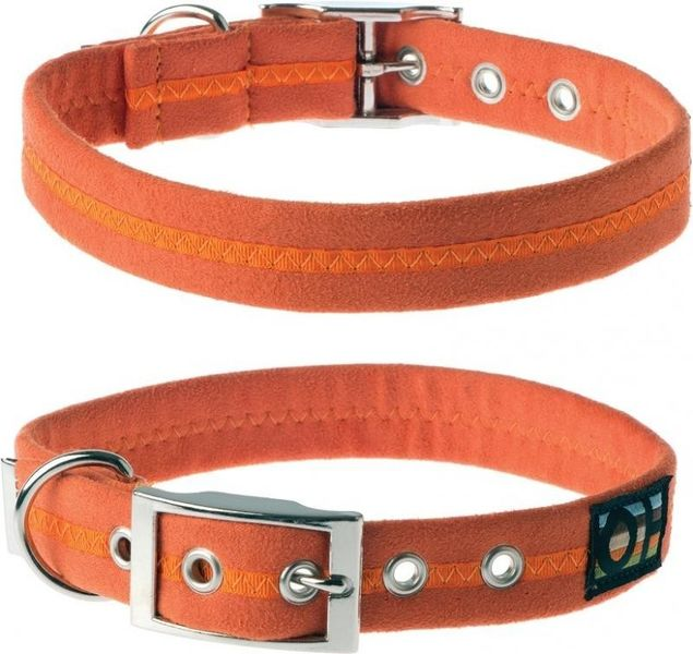 Oscar & Hooch Dog Collar 2.5 x 51cm - Clementine