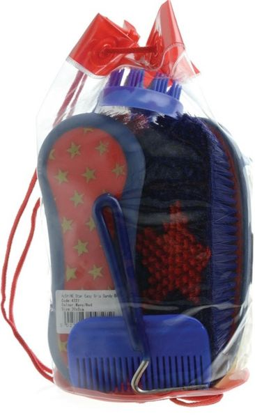 Wickedly Wild Grooming Kit Blue/Red