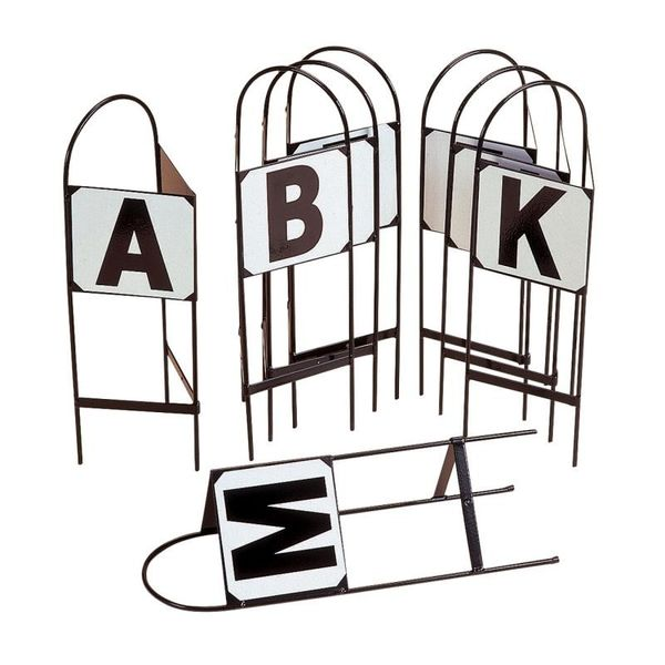 Pack of 3 Double Sided Show Jump Markers 13-15