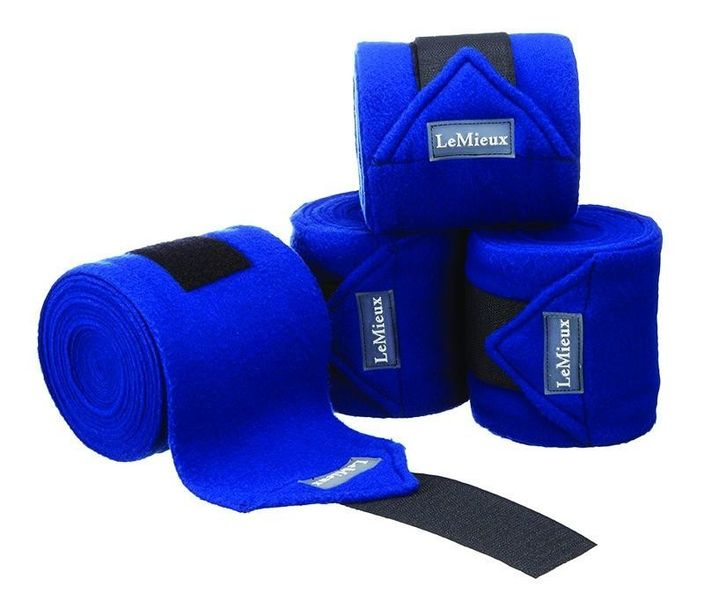 LeMieux Luxury Fleece Bandages Benetton Blue