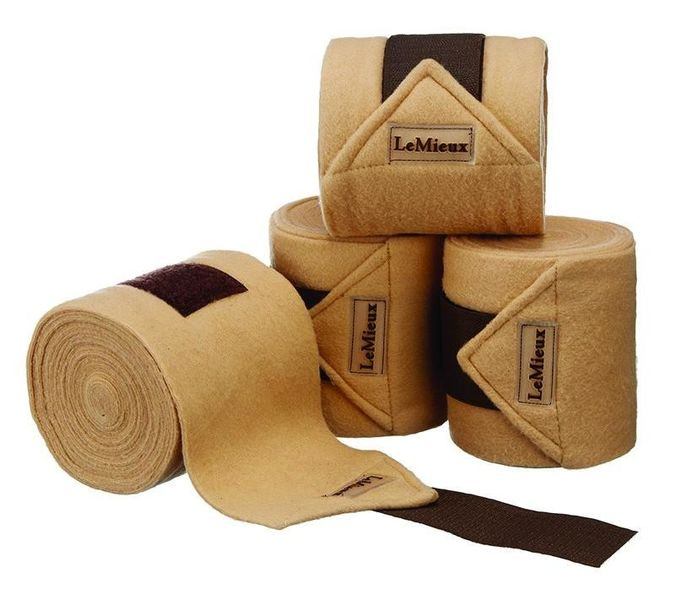 LeMieux Luxury Fleece Bandages Beige