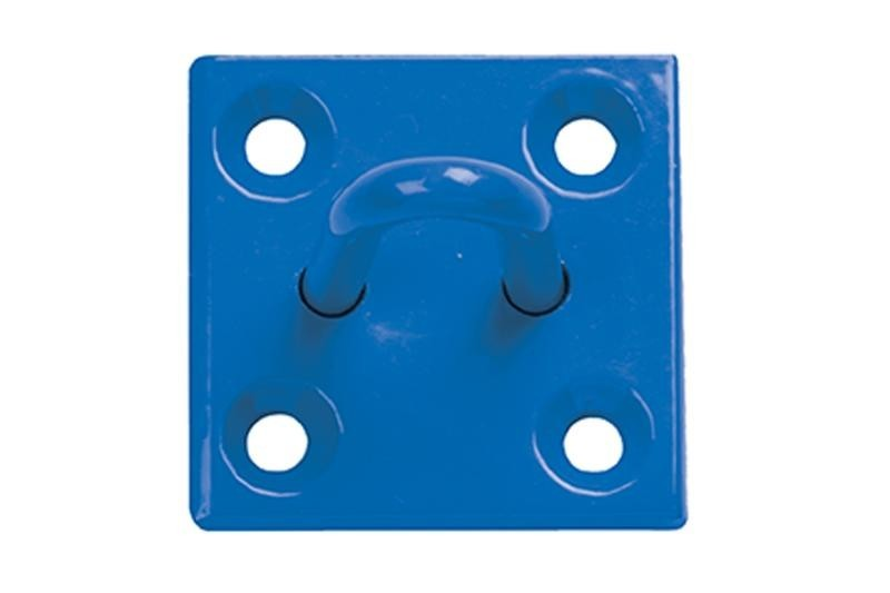 Stall Guard on Plate in Blue